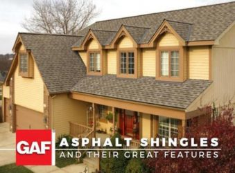 GAF Asphalt Shingles and Their Great Features